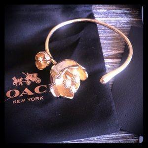 Gold Coach Bangle Bracelet